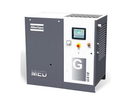 GA-MED喷油式螺杆空压机