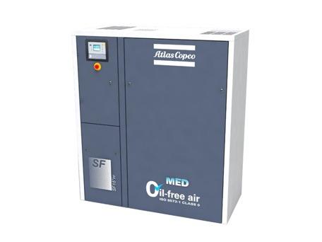 阿特拉斯SF-MED无油涡旋式空压机